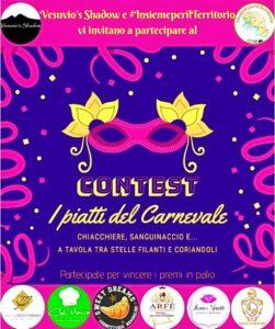 #InsiemeperilTerritorio e Vesuvio's Shadow: i sapori del Carnevale dal Mondo